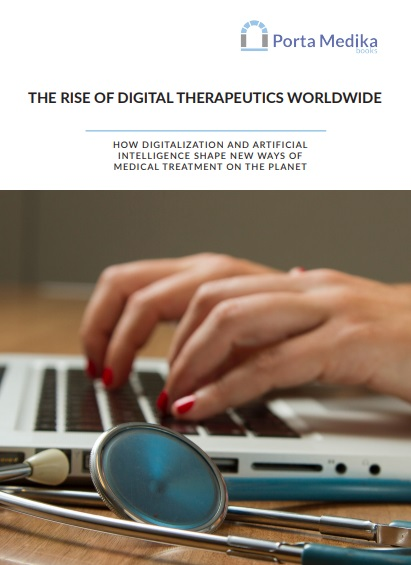The Rise of Digital Therapeutics Worldwide Cover